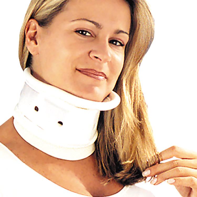 Colar cervical com apoio mentoniano Salvapé