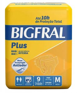 Fralda Bigfral Plus Tam. M