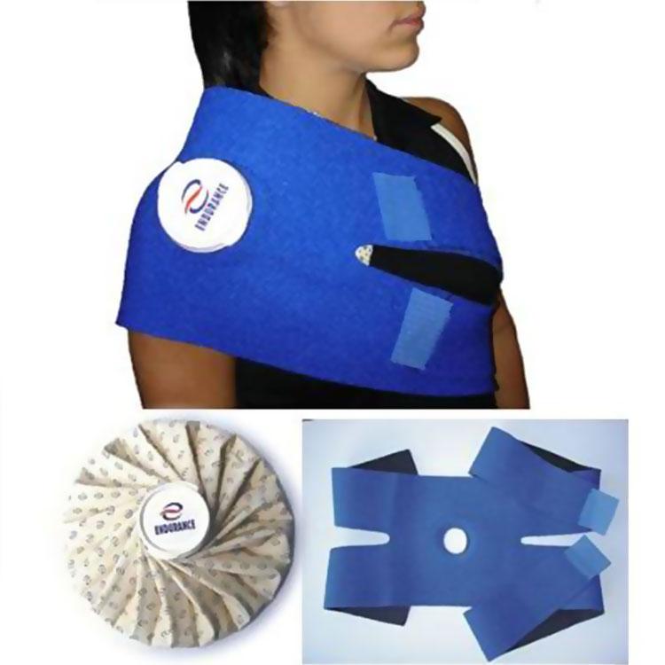 Bolsa De Gelo No Ombro : Kit bolsa de gelo flex?vel endurance cinta para ombro