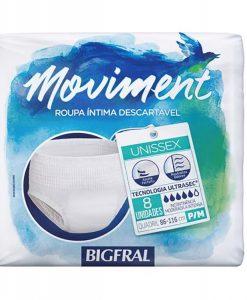 Bigfral Pants Moviment Tam. P/M 08 unidades