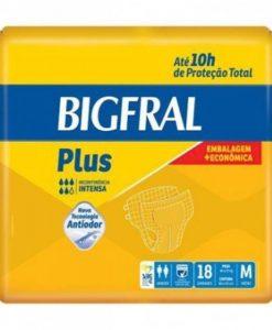 Fralda Bigfral Plus Tam. M Econômica