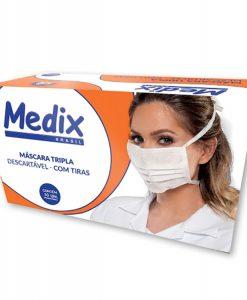 Máscara Tripla com tiras Medix
