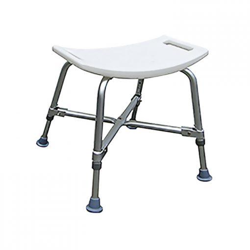 Banqueta SB 102 AXW - Banqueta para banho reforçada, Estrutura em alumínio, Assento em plástico reforçado, Altura do assento de 35 a 42 cm.....