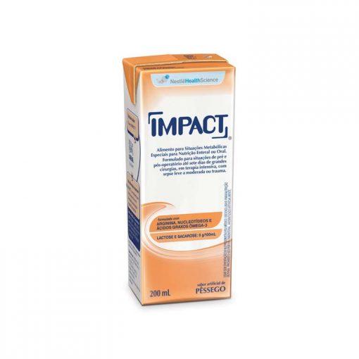 Impact Pêssego Tetra Slim - 200 mL