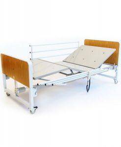 Cama Hospitalar Motorizada Star 5 Movimentos com ajuste altura do estrado, Grade retrátil - dobrável