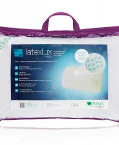 Travesseiro Latexlux Médio 100% Látex Natural