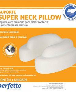 Super Neck Pillow cor azul marinho Perfetto