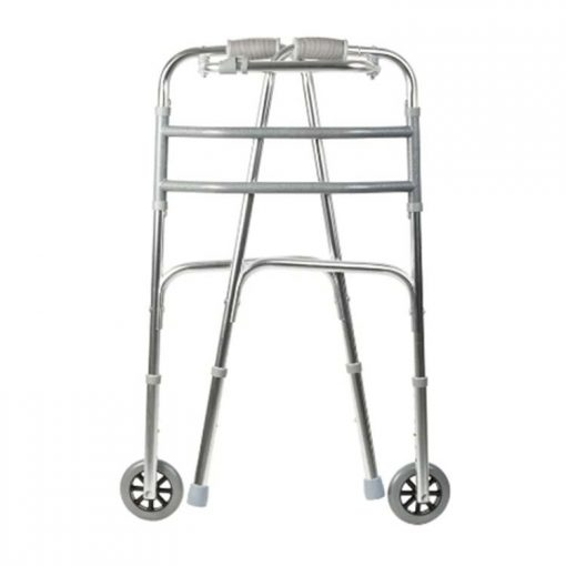 Andador Fixo Dobravel com rodas Mercur