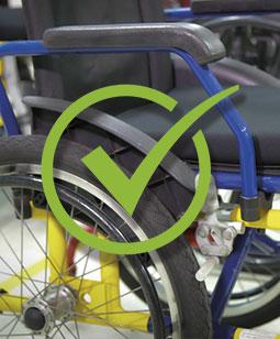 Higienização de Cadeira de Rodas