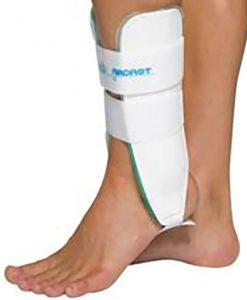 Tornozeleira AirCast Esporte - Indicações Prevenção de traumas de tornozelos na prática esportiva. Tratamento de entorses e nas lesões ligamentares.