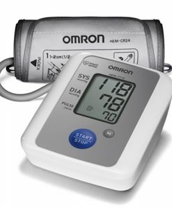 Monitor, Pressão Arterial, Automático, Braço, (HEM-7113), Omron, monitor Avançado, pressão sistólica, diastólica, pulso, memória para 30 leituras, detecta arritmia cardíaca, indicador de hipertensão, tecnologia Intellisense, controle da inflação, nível i
