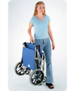 Cadeira de Rodas, Comfort, SL-9512, Aircraft Serie, Gino, Material Médico Hospitalar, Estrutura dobrável, alumínio, Braços articulados, Assento, encosto, nylon, anti-chama, Apoio para os braços, poliuretano, rodas traseiras 12