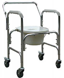 Modelo ACM202W - PRAXIS - Cadeira de Rodas para higienização