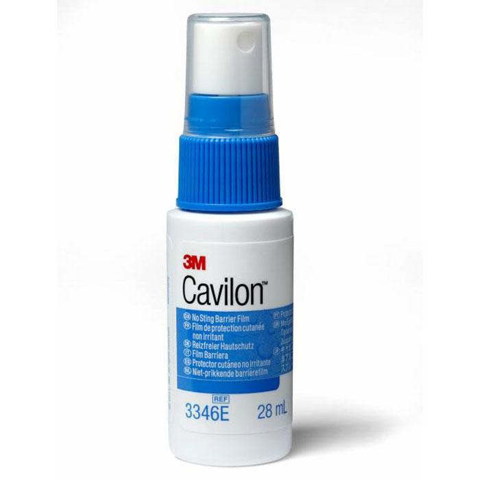 Cavilon Spray Protetor Cutâneo 3M - Gino Material Médico Hospitalar, Dermatite e irritação de pele, Incontinência (fecal / urinária), Processos alérgicos a adesivo (fitas), Cavilon Spray, cânulas, entubação, traqueostomias, gastrostomias,  Proteção da pe