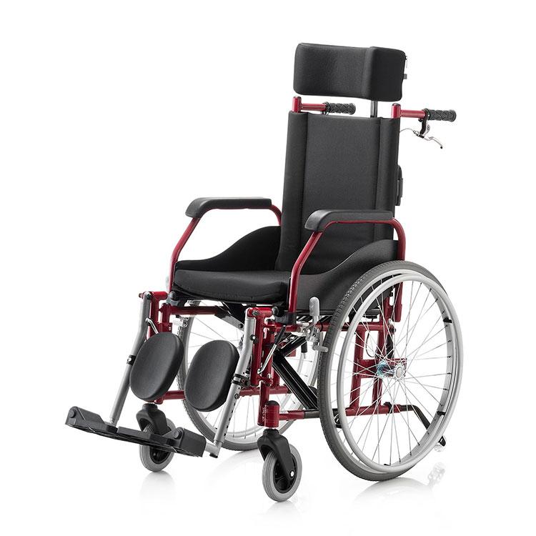 Cadeira de Rodas Fit Reclinável – Ortopedia Jaguaribe