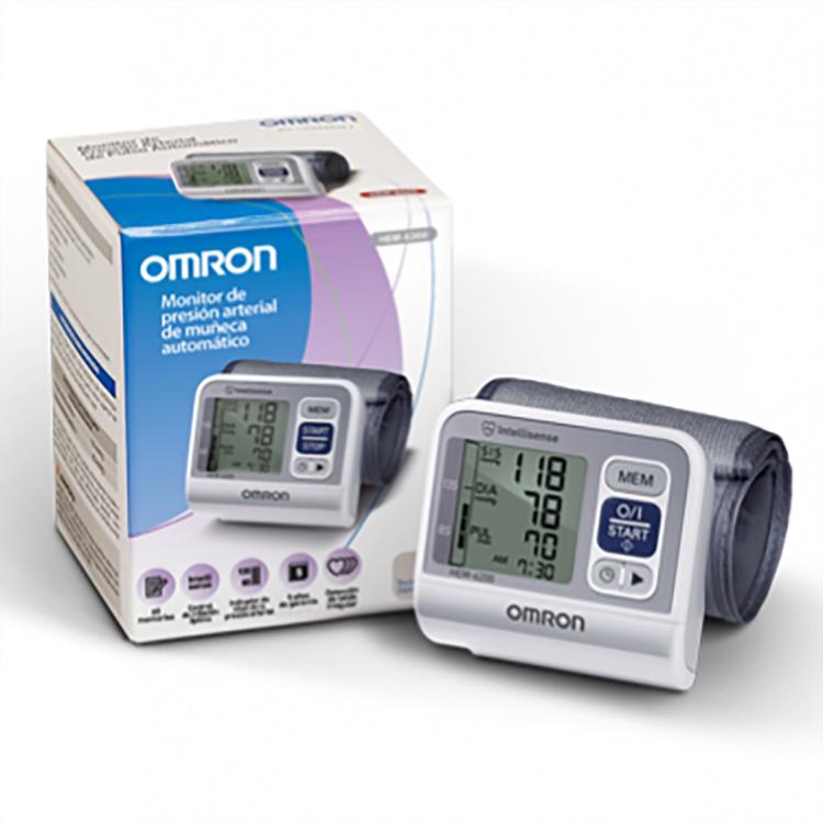 Monitor de Pressão Arterial Automático de Pulso, (HEM-6200), monitor de pulso, fácil uso, mede, pressão arterial sistólica, diastólica, pulso, avisa o usuário quando detecta arritmia cardíaca, possui Indicador do Nível da Pressão Arterial, compara as lei