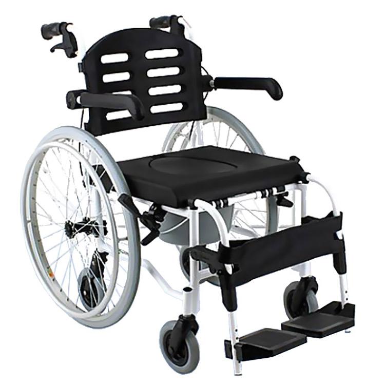 Cadeira de Rodas para Higienização SL155 Aro 24 Comfort
