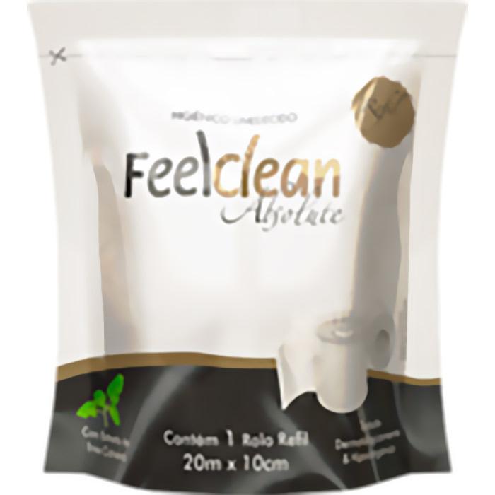 O Higiênico Umedecido Feelclean Absolute é resultado de uma tecnologia inovadora que une a praticidade de uso do papel higiênico com a performance de limpeza de uma toalha umedecida. Sua formulação é Dermatologicamente Testada e Hipoalergênica* e contém