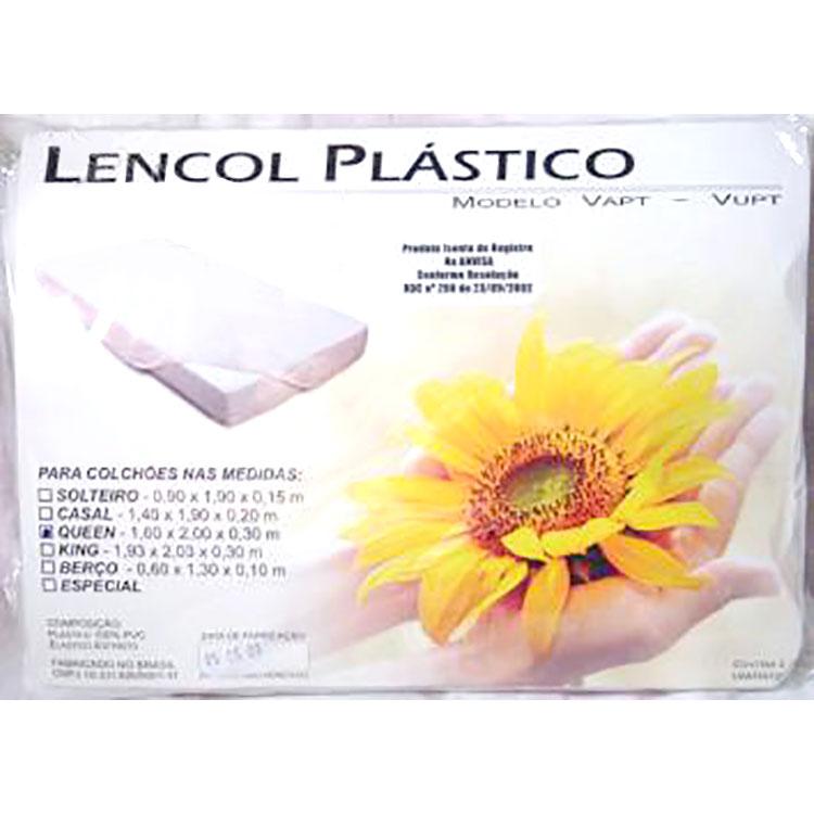 Lençol Plástico Impermeável com elástico em toda borda Encaixe perfeito no colchão.