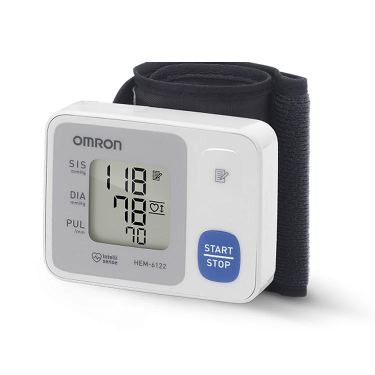 Monitor de Pressão Arterial, Automático, de Pulso, Control, HEM-6122, Gino, Material Médico Hospitalar, compacto, Sensor de Posicionamento, altura do coração, obter medidas, mais precisas